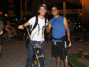 Bike Ride from Marina to Malecon Wednesday Nights Vallarta